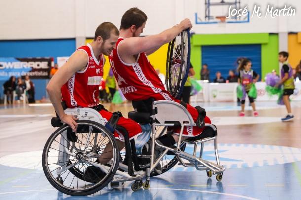 Kyle Marsh & Lee Manning (BSR AMIAB Albacete)