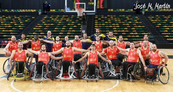 Selección España BSR